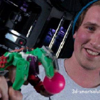 Tạo bàn tay giả cùng máy in 3D & công nghệ in 3D